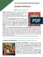 CALENDARIO VAISHNAVA DE SEPTIEMBRE