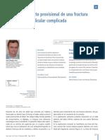 Resauracion Provisional Fractura Coronoradicular