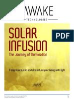 Solar Infusion Manual