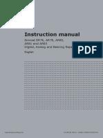 Simrad Repeaters Instruction Manual