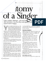 Anatomy of a Singer Article