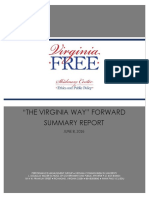 The Virginia Way Forward Summary Report (2016)