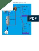 Circuito Basico Funcional Para Cisterna y Tanque de Agua