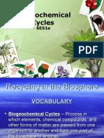 biogeochemical cycles - august 26 2015