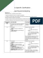 tsa-criterion a inquiring and analyzing  2