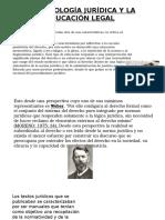 LA SOCIOLOGÍA JURÍDICA Y LA EDUCACIÓN LEGAL.pptx