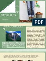 Conservacion y Manejo de Recursos Naturales