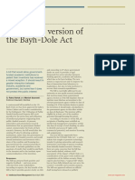 IAM Magazine Issue 34 - The Indian Version of the Bayh-Dole Act