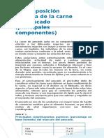 3 Unidad Resumen 2016 I PESCADO Generalidades Alteraciones Los Peligros Para La Inocuidad