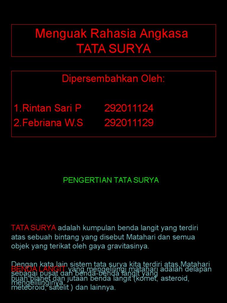 Ppt Tata Surya Ppt