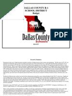 FY17 DCR1 Budget Document