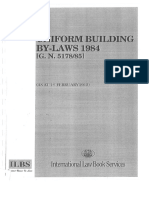 UBBL Uniform Building by Laws 2012