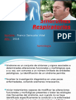 Semiologia sindromes respiratorios