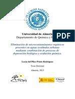 TD 2013 Eliminacion de Microcontaminantes Organicos Presentes en Aguas Residuales