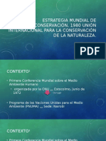 Estrategia Mundial de Conservacioìn, 1980 International Unioìn (Luis)