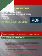 Interpretasi Elemen SMK3- PP 50 TH. 2012- SMK3
