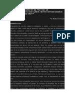 El Rol Del Maestro en El Proceso de Transformacion Educativa y Los Nuevos Desafíos en El Marco Del Mescp