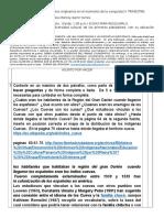 WEBQUEST #2 LOS PUEBLOS ORIGINARIOS EN EL MOMENTO DE LA CONQUISTA