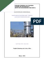 Manutenção Industrial 2015 2 - Parte V