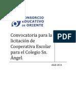 Convocatoria Para La Licitación de Cooperativa CSA (1)