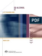 WorkRelatedAlcoholAndDrugUse AFitForWorkIssue 2007 PDF
