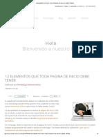 12 ELEMENTOS QUE TODA PAGINA DE INICIO DEBE TENER.pdf