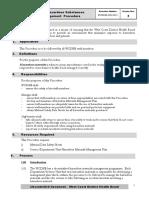 6 - HSNO Hazardous Substances Management Procedure
