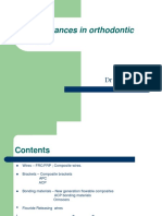 Newer Advances in Orthodontic Materials