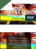 Clase Postproduccion