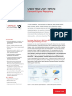 Oracle - DataSheet_VCP R12_Demand Signal Repository (056854)
