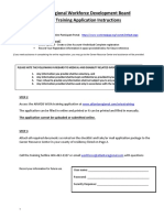 Wioa Training Application