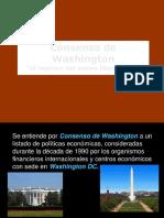 El Consenso de Washington
