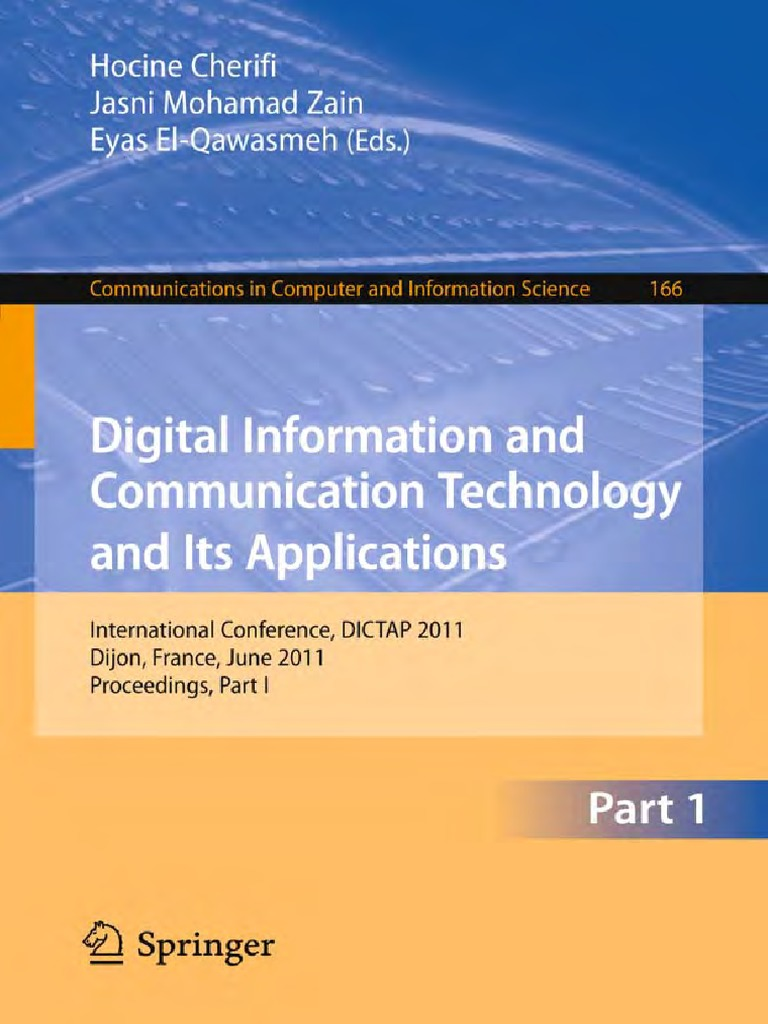 Digital Information and Communication Technology and Its