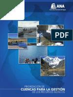 Priorización de Cuencas Para La Gestión de Los Recursos Hídricos