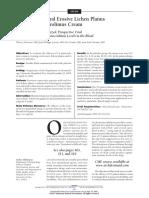 Treatment of Oral Erosive Lichen Planus With 1% Pimecrolimus Cream