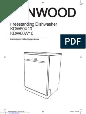 2 x kenwood KDW60X10 DISHWASHER UPPER BASKET RUNNER SUPPORTS