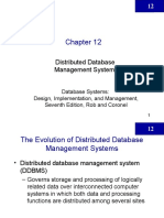 Chapter 12 - DDBMS