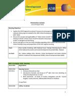 UTF-5 Agenda