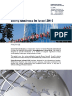 Doing Business in Israel 2014