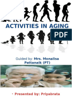 Activities in Aging