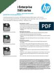 HP Officejet Enterprise Color MFP X585 series