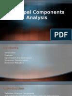 Principal Component Analysis - PCA