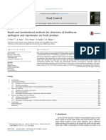 (Journal) Rapid and Standardized Methods for Detection of Foodborn