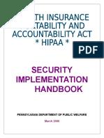 HIPAA Handbook