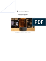 Ember 3d Printer