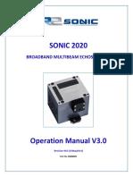 R2 Sonic 2020 - Manual