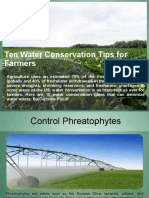 Ten Water Conservation Tips for Farmers