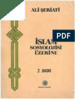 Ali Şeriati - İslâm Sosyolojisi Üzerine