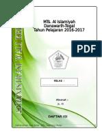 Administrasi Wali Kelas 2012 2013 MTs