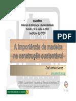 A Importancia Da Madeira Na Construção Sustentavel